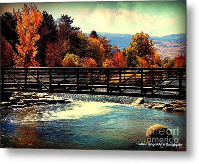 Bridge Over The Truckee River Metal Print