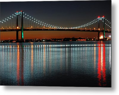 Suspended Reflections Metal Print by James Kirkikis