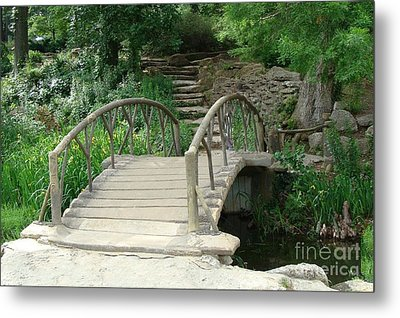 Bridge To A New Life Metal Print by Janette Boyd
