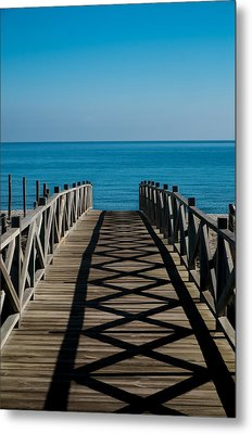 Bridge To Med Metal Print