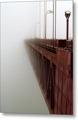 Bridge To Obscurity Metal Print