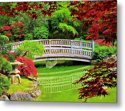 Bridge To Tranquillity Metal Print