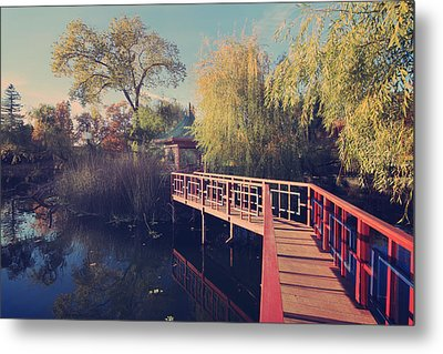 Bridge To Zen Metal Print