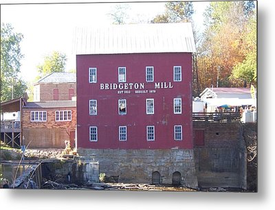 Bridgeton Mill Metal Print by John Mathews