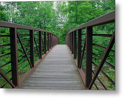 Bridging The Gap Metal Print by Lisa Phillips