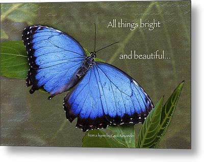 Bright And Beautiful  Metal Print