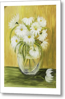Bright And Sunny Metal Print by Nancy Edwards