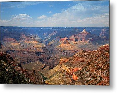 Bright Angel Trail Grand Canyon National Park Metal Print
