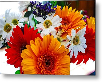 Metal Print featuring the photograph Bright by Angela J Wright