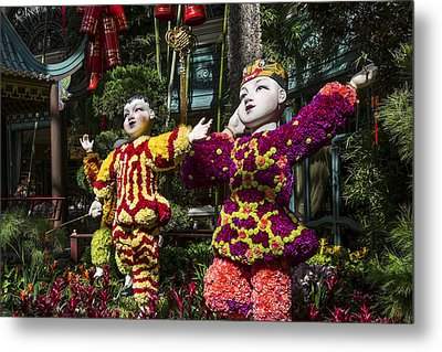 Metal Print featuring the photograph Bright Boys by Glenn DiPaola