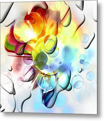 Bright By Nico Bielow Metal Print by Nico Bielow