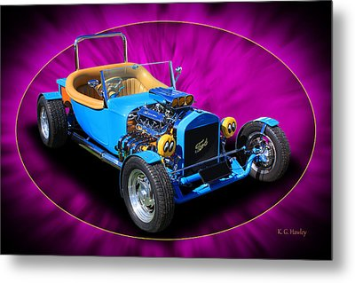 Metal Print featuring the photograph Bright Eyes by Keith Hawley