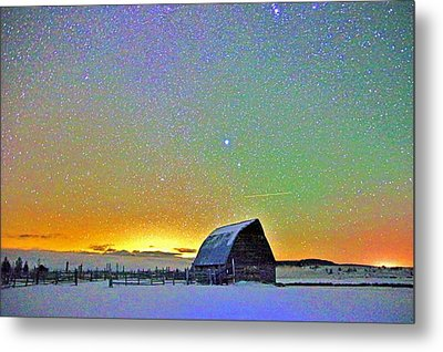 Bright Night Metal Print by Matt Helm