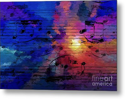Metal Print featuring the digital art Bright Spot by Lon Chaffin