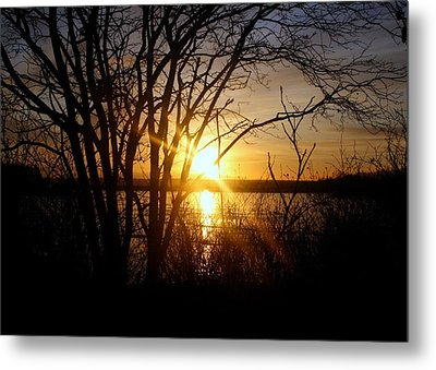 Bright Sunrise Metal Print