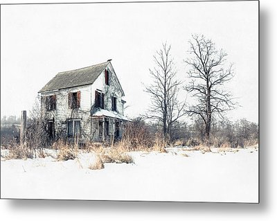 Brighter Days - The Abandoned Farmhouse Of A Serial Killer Metal Print by Gary Heller