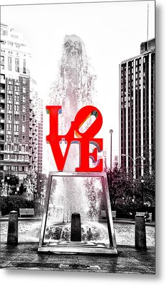 Brightest Love Metal Print by Bill Cannon