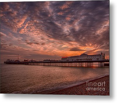Brighton Pier Metal Print by Pete Reynolds