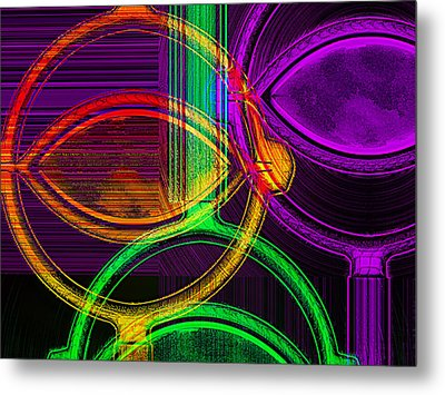 Brights Metal Print by Wendy J St Christopher