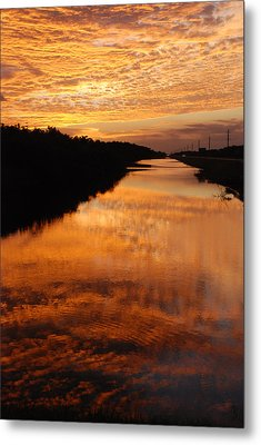 Brilliant Reflection Metal Print