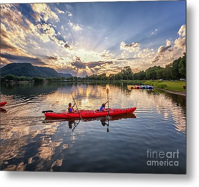 Metal Print featuring the photograph Bringing It In by Kari Yearous