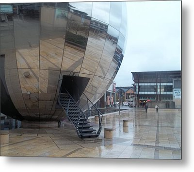 Bristol Alien Landing Metal Print by James Potts