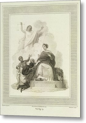 Britannia Metal Print by British Library