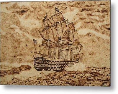 British Battleship Metal Print by Iliev Petkov