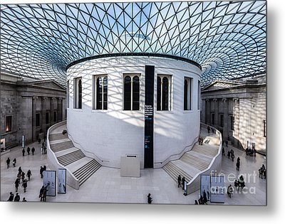 Metal Print featuring the photograph British Museum Color by Matt Malloy