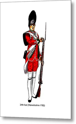 British Uniforms Metal Print by Valiant Knight