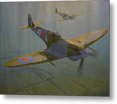 British Warbirds Metal Print
