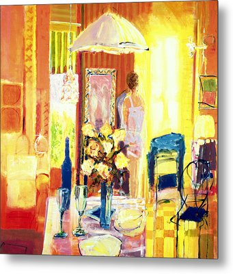 Brittany, 2001 Acrylic On Canvas Metal Print