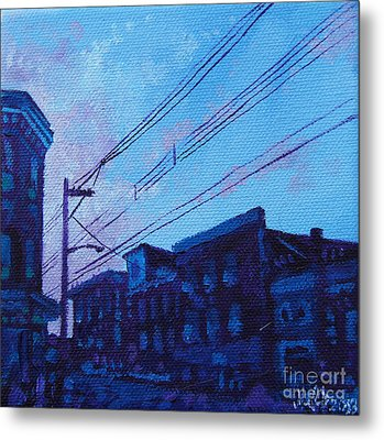 Broad And Front Metal Print