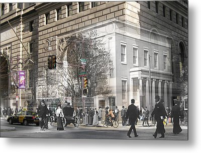 Broad And Walnut Metal Print by Eric Nagy