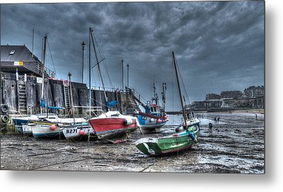 Broadstairs Harbour Metal Print