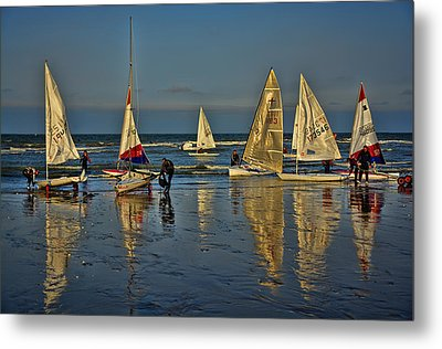 Broadstairs Sailing Metal Print