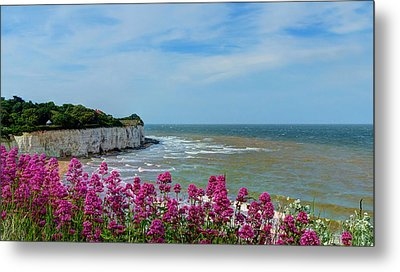 Broadstairs Sea Views Metal Print
