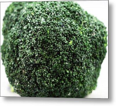 Broccoli Metal Print by John Rizzuto