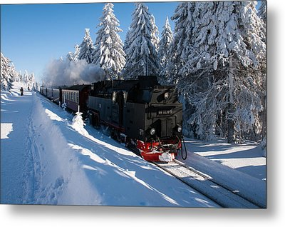Brockenbahn Metal Print by Andreas Levi
