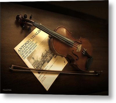 Metal Print featuring the photograph Broken A by Lucinda Walter