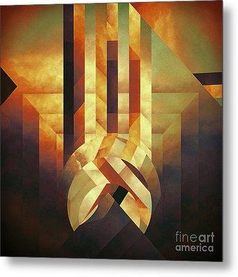 Broken Echo Metal Print by Lonnie Christopher