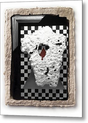 Broken Heart  Metal Print by Mauro Celotti