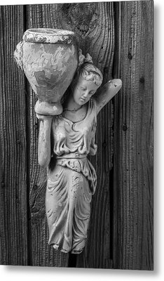 Broken Lady Statue Metal Print by Garry Gay
