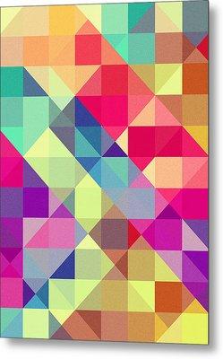 Broken Rainbow II Metal Print by VessDSign