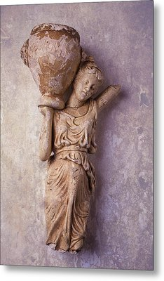 Broken Statue Metal Print by Garry Gay