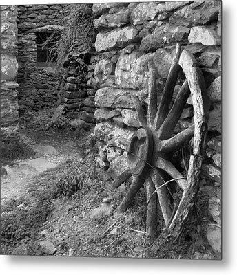 Broken Wheel - Ireland Metal Print by Mike McGlothlen