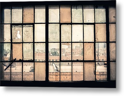 Broken Windows Metal Print by Yo Pedro