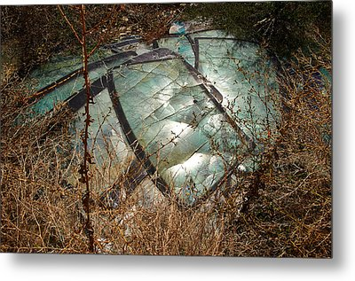 Broken Windscreens Metal Print