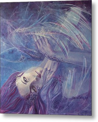 Broken Wings Metal Print by Dorina  Costras
