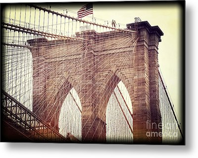 Metal Print featuring the photograph Brooklyn Pride by Paul Cammarata